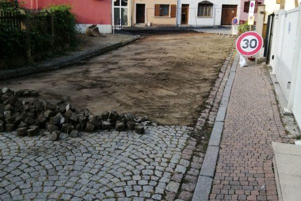 Les travaux de voirie ont commencé Rue Mercière