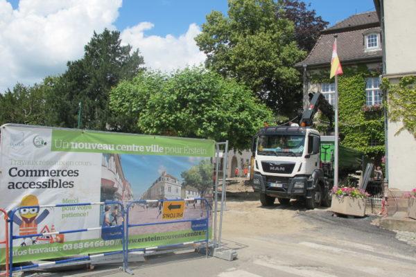 Avancement des travaux rue du Monastère