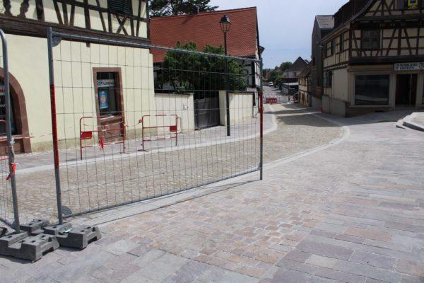 Poursuite et finalisation des travaux d'aménagement de la descente de la rue Jean-Georges Abry